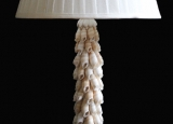 White Shell Lamp